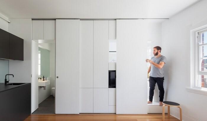 Маленькая студия стала лучшей квартирой в Австралии