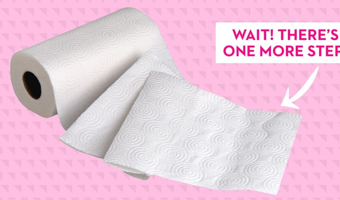 Вероятно, вы тоже использовали бумажные полотенца неправильно всю свою жизнь