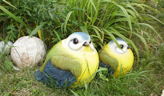 Декоративное украшение сада: садовые фигуры и «живые скульптуры»