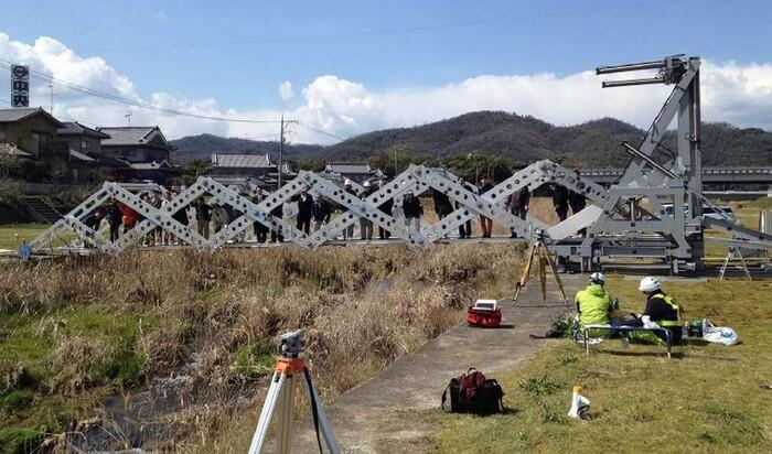 Японские мобильные мосты в стиле оригами Mobile Bridge Version 4.0