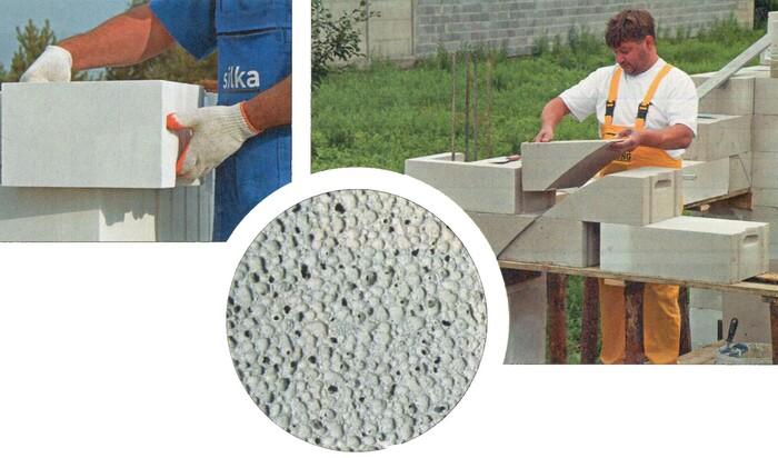 Газобетон — энергоэффективный негорючий материал для строительства