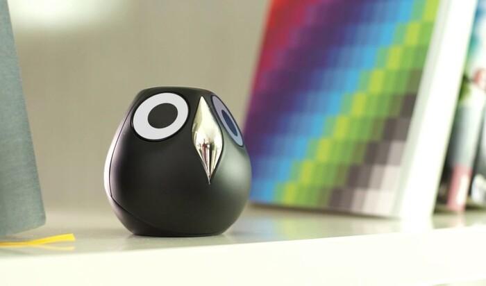Новый концепт камеры для наблюдения в виде совы от Ulo