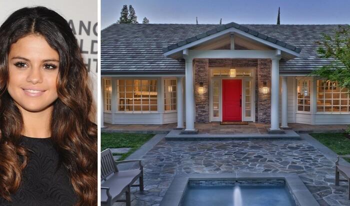 Селена Гомес продает свой «несчастливый» калифорнийский особняк
