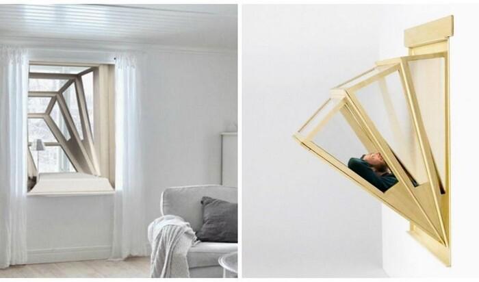 Окно, которое позволит вам наслаждаться видами неба, не покидая дом