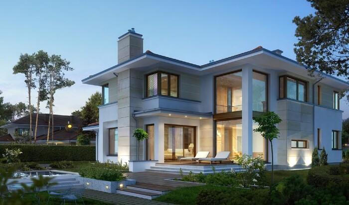 Одноэтажный или двухэтажный дом — плюсы и минусы коттеджей