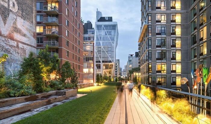 Лучшие парки на мостах. Озеленение в большом городе