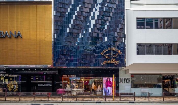 Архитектурная компания «Брегман и Хаманн»: Бутик «Пол энд Шарк» в Гонконге