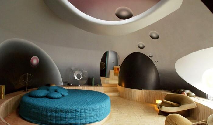 Космический дом Пьера Кардена. Модный дом модного человека
