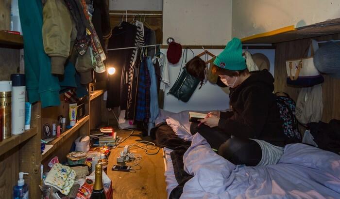 Шокирующие крошечные японские комнаты, где в действительности живут люди