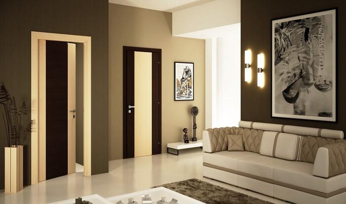 Межкомнатные двери: разнообразие материалов и облицовки