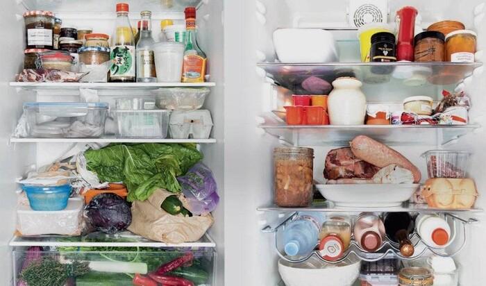 Кухонный фотопроект. Заглянем в холодильники шеф-поваров