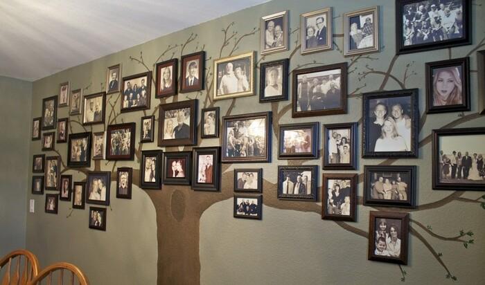 Родословное древо своими руками – 7 идей
