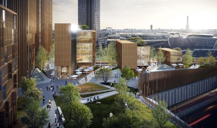 Деревянный небоскреб Майкла Грина: возведут ли высотку из дерева в Париже?