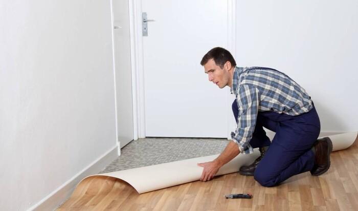 Линолеум для квартиры или офиса в качестве напольного покрытия