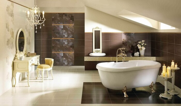 Какие материалы используют для изготовления современных ванн?