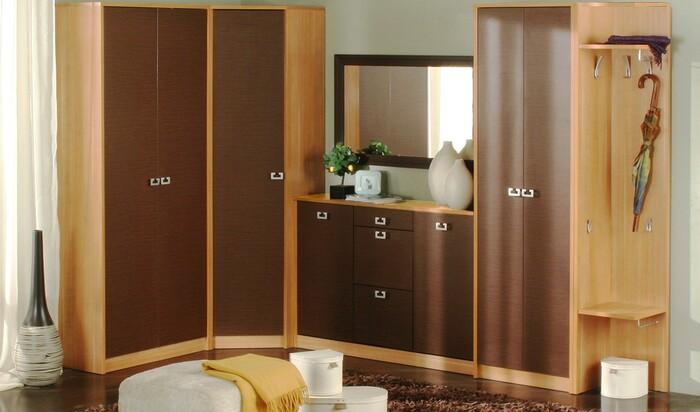 Как выбрать мебель для большой прихожей?