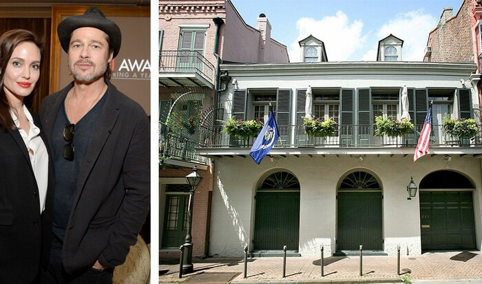 Брэд Питт и Анджелина Джоли снизили цену на свой особняк в Новом Орлеане