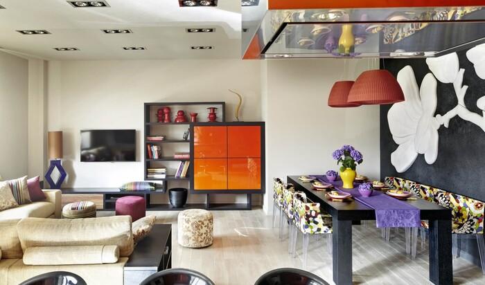 Основные черты стиля интерьера Фьюжн для дизайна квартиры