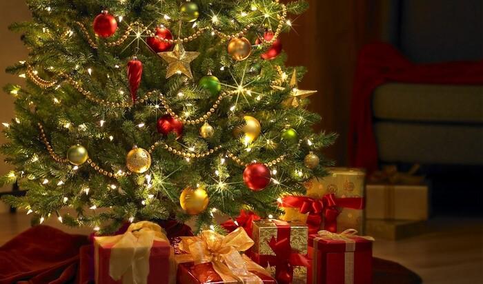 Новогодняя елка в непривычном свете: четыре популярных идеи