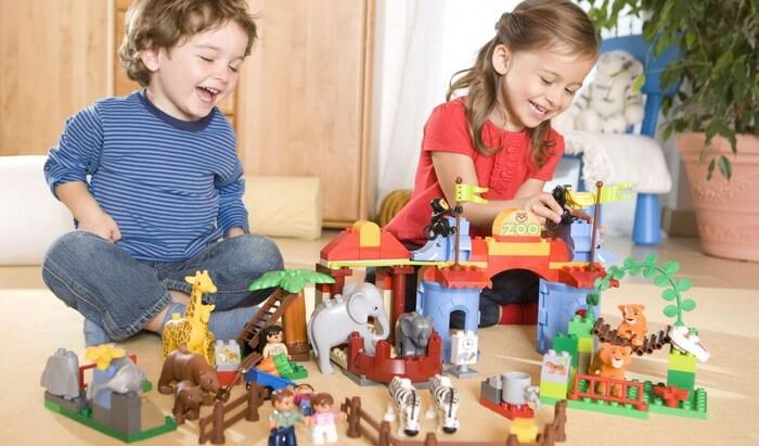 Системы хранения игрушек в детской комнате