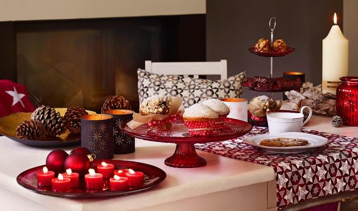 Декор праздничного новогоднего стола