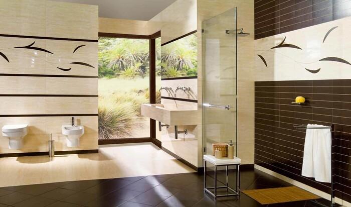 Наиболее важные качества керамической плитки для ванной комнаты