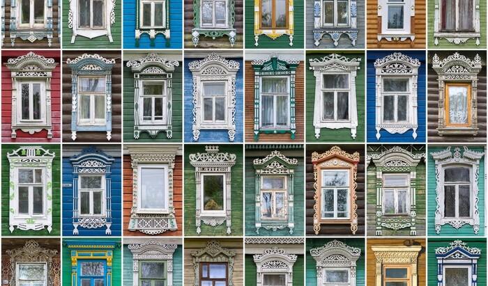 Резные наличники на окна как лицо русского дома