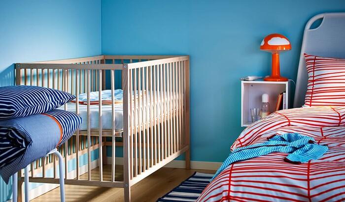 Кроватка младенца в спальне родителей. Рекомендации от Мой Дом