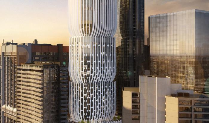 Небоскребы Мельбурна: Заха Хадид и проект в форме ... наушника