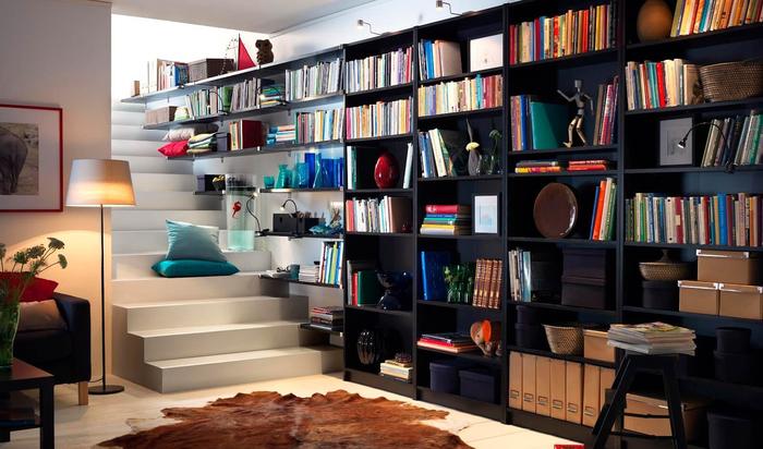 Способы хранения книг: удобство и оригинальность