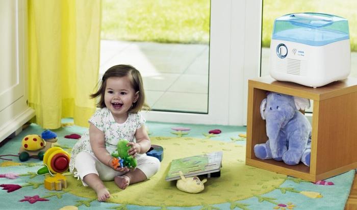 Технологии для детской комнаты (увлажнение и очистка воздуха)