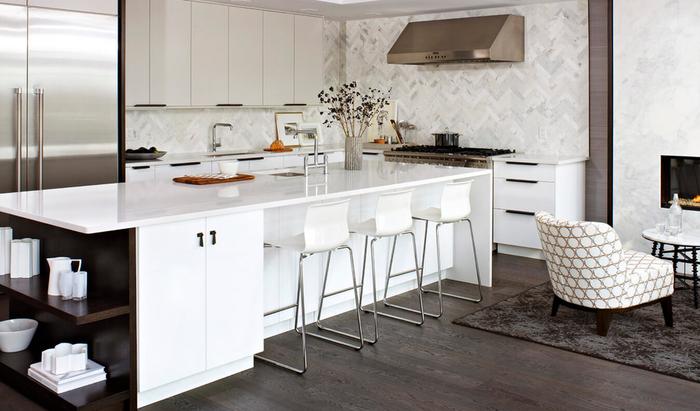 Барная стойка на кухне. Дизайнерское решение или необходимость?