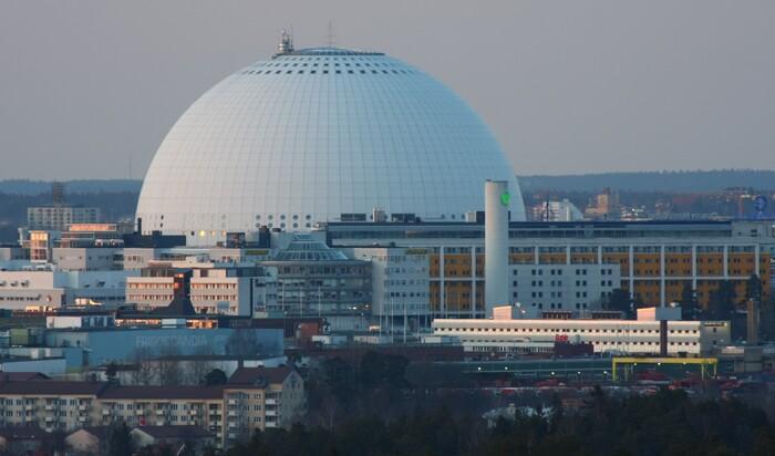 Эрикссон-Глоб: жемчужина Евровидения и крупнейшее сферическое здание в мире