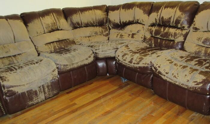 Решаем проблему: что делать с потёртостями на кожаном диване