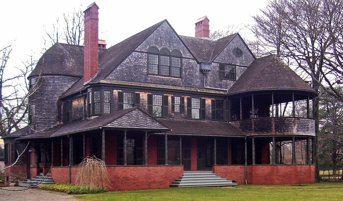 Шингл – запоминающийся стиль старой американской архитектуры