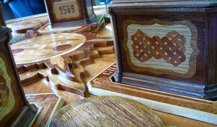 Маркетри: высокохудожественная деревянная мозаика