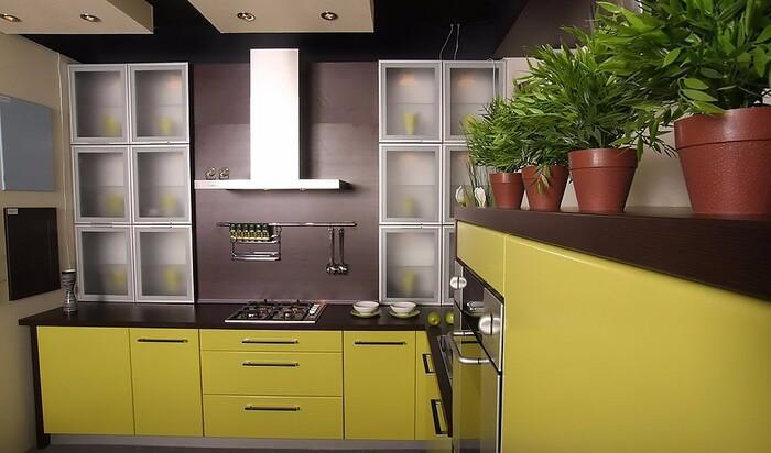 Подбираем материал для кухни в стиле Модерн