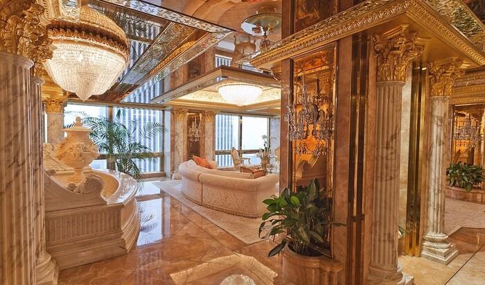 Пентхаус Дональда Трампа: что такое роскошь и есть ли у нее границы