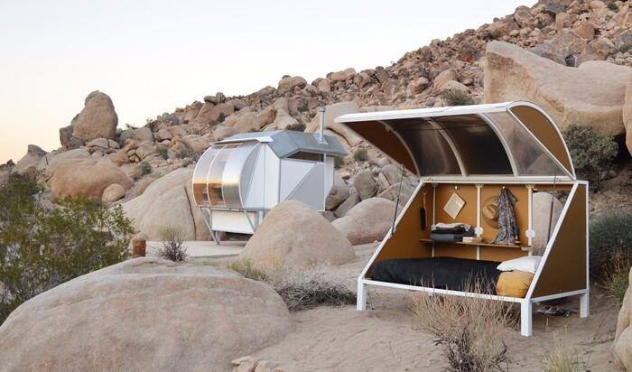 Капсульное жилье в Калифорнии от художницы Андреа Зиттель