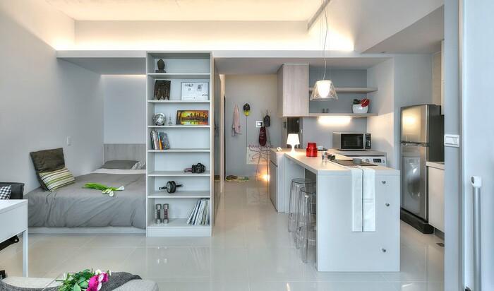 Однокомнатная квартира или студия - психология организации жилого пространства