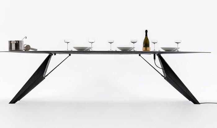 Эра умной мебели: кухонные столы, о которых мечтает каждая хозяйка