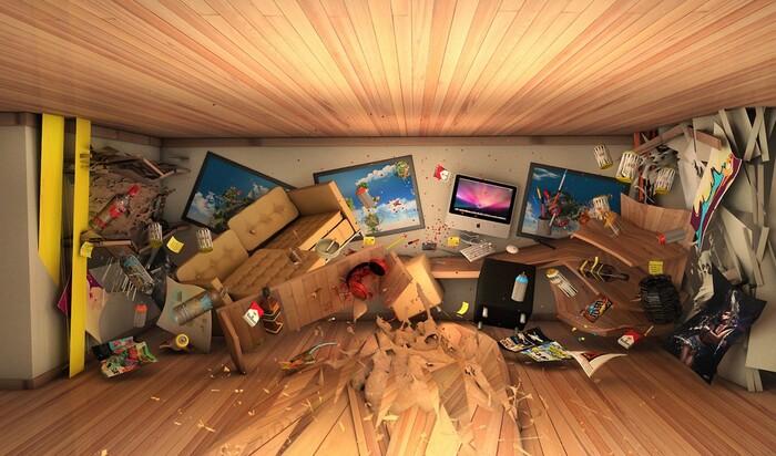 На радость лентяям и неряхам: неприбранные комнаты делают людей умнее и креативнее