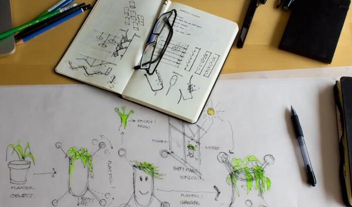 Растение в доме: компактные вертикальные сады Livi