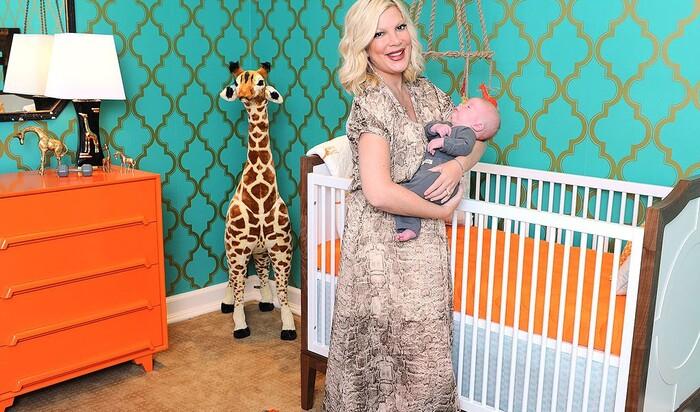 Любите ли вы жирафов? Тори Спеллинг и её необычная детская комната