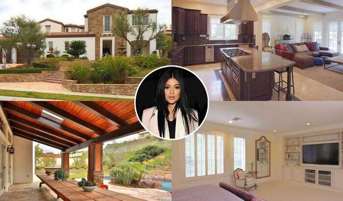 Покупка второго дома в 18 лет: Кайли Дженнер продаёт особняк в Калабасасе
