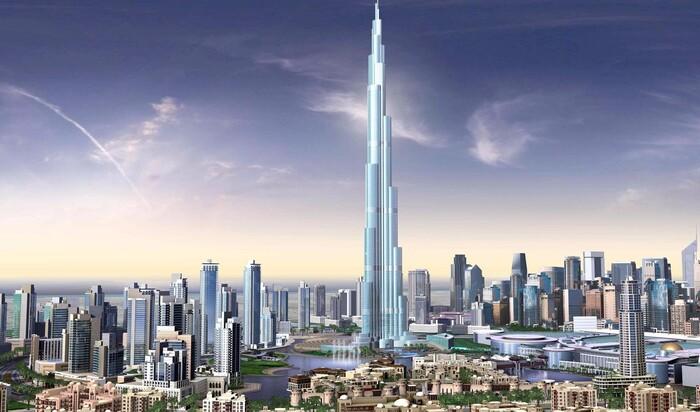 Бурдж Халифа – современное чудо света в столице ОАЭ