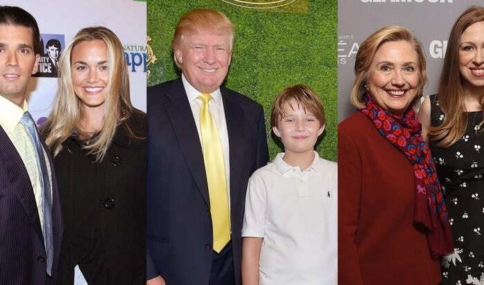 Визит в дома детей кандидатов в американские президенты