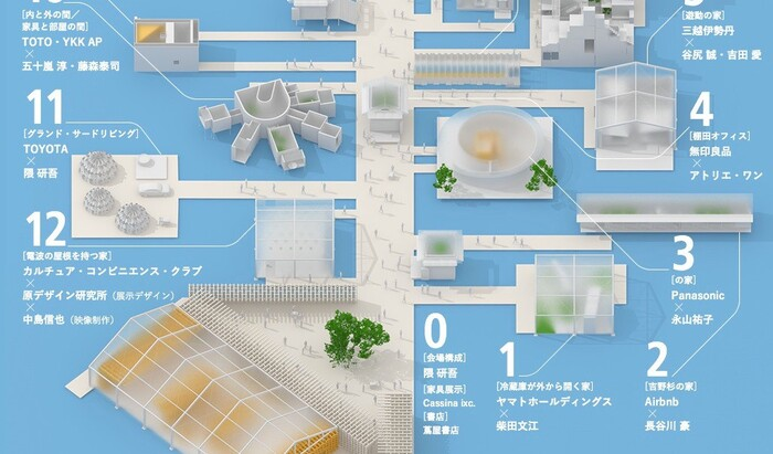 House Vision 2016: Соу Фудзимото, Кенго Кума и другие предложения по организации дома будущего