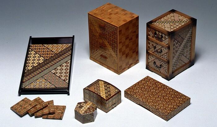 Японское искусство Хаконе-Йосеги-Заику или Хаконе-маркетри