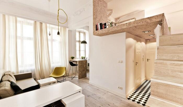 Дизайн интерьера небольшого жилого пространства: 3 ярких примера